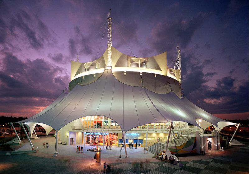 """The new Cirque du Soleil show at Disney Springs will be staged in the same iconic white tent that housed """"La Nouba."""""""