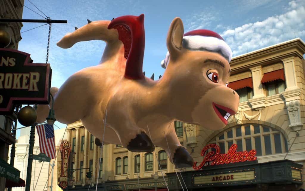 Shrek at Universal's Holiday Parade Featuring Macy's 2017