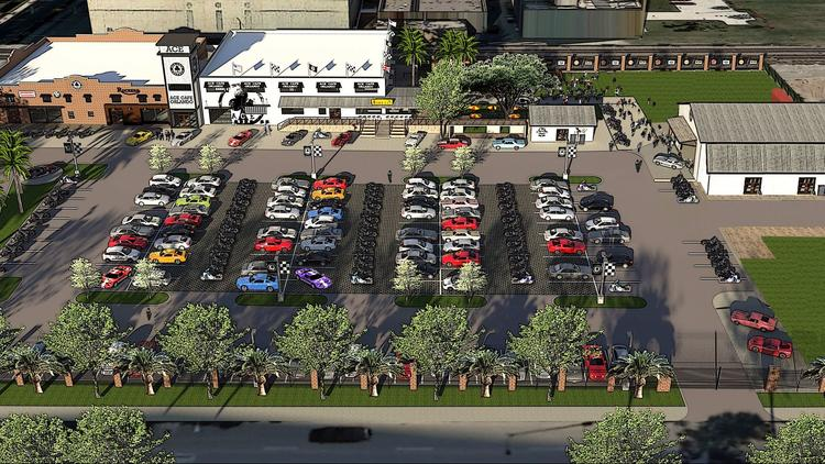 Ace Cafe Orlando will take over a three-acre parcel to house a motor-inspired art gallery, an outdoor area to display bikes and cars, a live-event area and retail shops.
