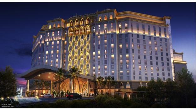 Disney's new 15-story Coronado Springs tower will have 545 guest rooms and 50 suites.
