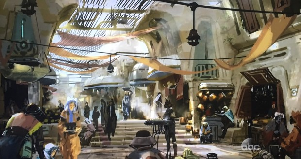 Star Wars Land Disney