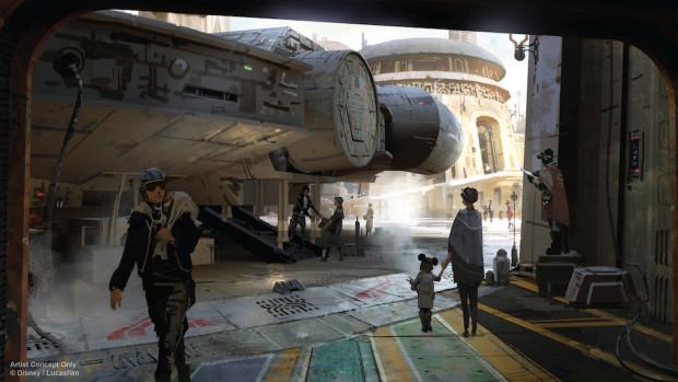 Star Wars-Themed Land Artist Concept