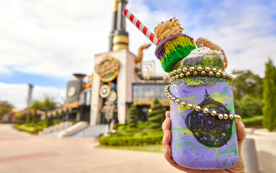 Toothsome Chocolate Emporium & Savory Feast Kitchen Mardi Gras Milkshake