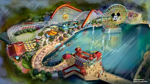 Pixar Pier at Disney California Adventure - IMAGE VIA DISNEY PARKS BLOG
